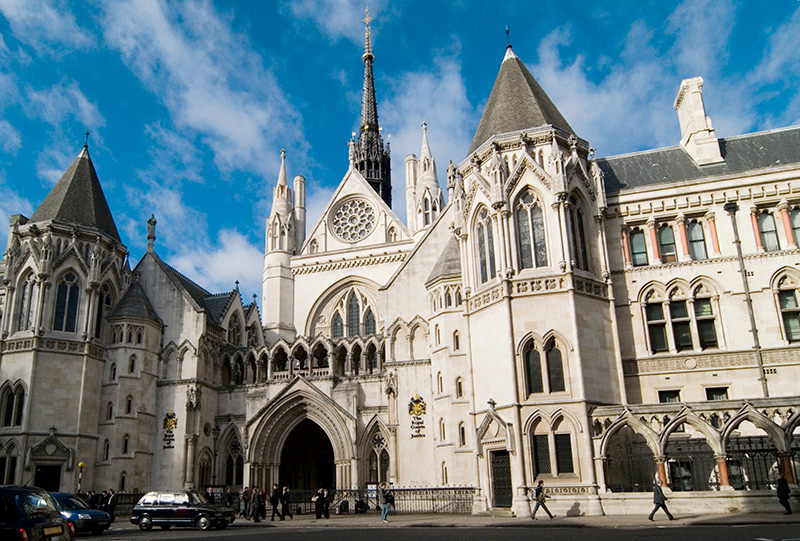 Royal Court of Justice, London